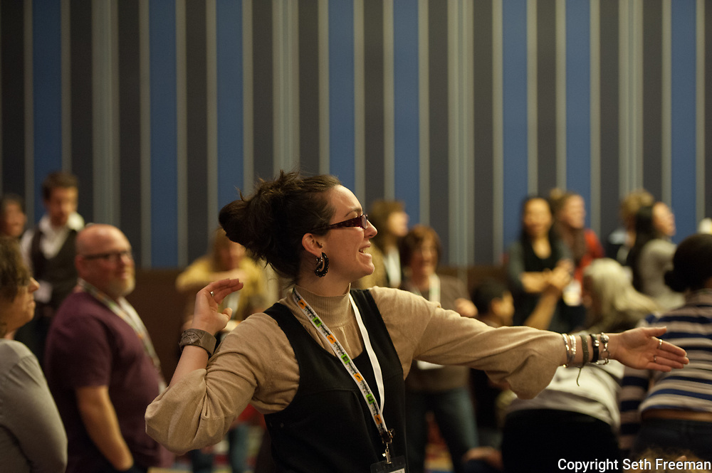 Super Session: Janine Antoni..The National Art Education Association (NAEA) National Convention in New York City 2/27/2012 - 3/1/2012