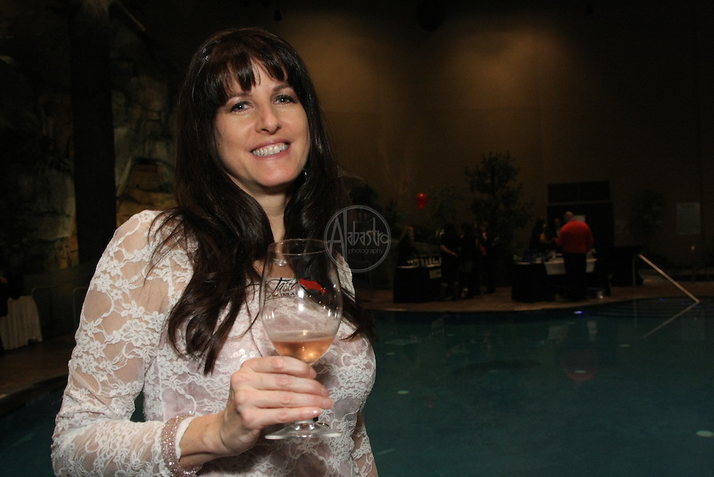 2011 Taste of Tulalip Grand Taste in the Oasis Pool.