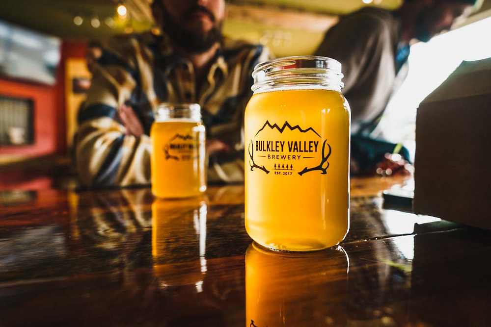 Friday afternoon at Bulkley Valley Brewery, Smithers, British Columbia.