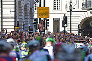Crowds gather at the start of  the Tour of Britain 2016 stage 8 , London, United Kingdom on 11 September 2016. Photo by Martin Cole.