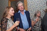 THE MARQUESS OF WORCESTER; LADY ANNE CARR, Tatler magazine Jubilee party with Thomas Pink. The Ritz, Piccadilly. London. 2 May 2012