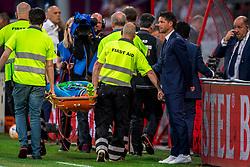 12-05-2018 NED: FC Utrecht - Heerenveen, Utrecht<br /> FC Utrecht win second match play off with 2-1 against Heerenveen and goes to the final play off / Martin Hansen #24 of SC Heerenveen, Coach Jean Paul de Jong