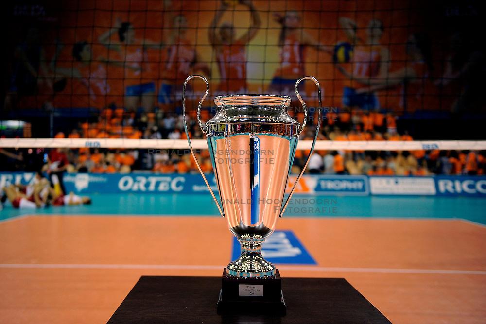20-09-2009 VOLLEYBAL: DELA TROPHY NEDERLAND - TURKIJE: EINDHOVEN<br /> Nederland ook de tweede wedstrijd van Turkije maar ditmaal iets moeizamer 3 -2 / Dela Trophy<br /> &copy;2009-WWW.FOTOHOOGENDOORN.NL