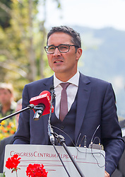 23.08.2015, Alpbach, AUT, Forum Alpbach 2015, Tiroltag, feierliche Eröffnung, im Bild Südtirols Landeshauptmann Arno Kompatscher (SVP) // Arno Kompatscher (Governor of the Autonomous Province of Bolzano) during the opening Ceremony of 2015 European Forum Alpbach in Alpbach, Austria on 2015/08/23. EXPA Pictures © 2015, PhotoCredit: EXPA/ Johann Groder