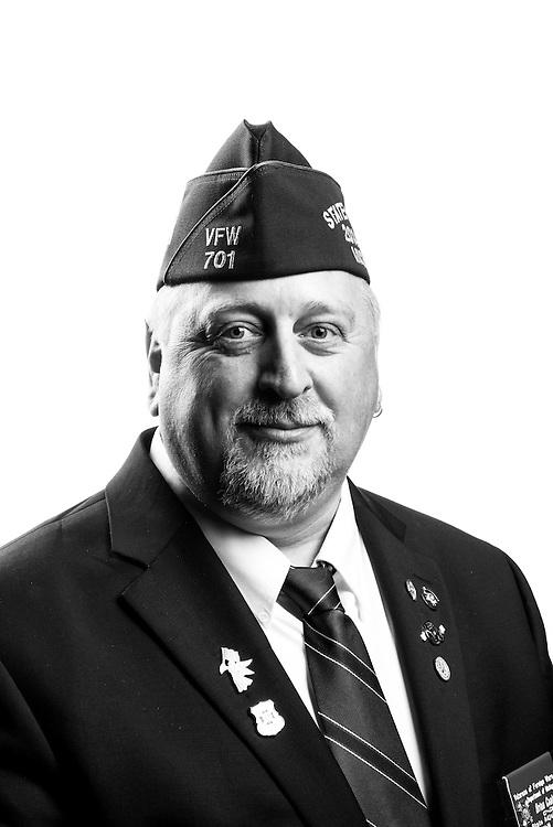 Brian Coats<br /> Army<br /> E-5<br /> Aircraft Fuel Handler<br /> Aug. 1985 - Aug. 2006<br /> Desert Storm<br /> <br /> Veterans Portrait Project<br /> St. Louis, MO