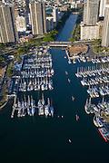 Ala Wai Yacht Harbor, Honolulu, Oahu, Hawaii