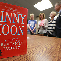 "The book ""Cinny Moon"" has been selected for this year's Tupelo Reads book as it was announced Monday afternoon at the Lee County Lirbrary."