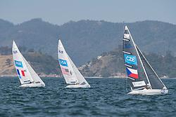 SEGUIN Damien, FRA, 1 Person Keelboat, 2.4mR, Sailing, Voile, SMITH Dee, USA, BINA Daniel, CZE à Rio 2016 Paralympic Games, Brazil