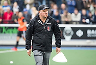 UTRECHT - coach Graham Reid (A'dam) voor de 2e finale van de play-offs om de landtitel tussen de heren van Kampong en Amsterdam  (1-2) . Zondag volgt er een derde en beslissende wedstrijd. COPYRIGHT  KOEN SUYK