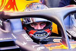February 18, 2019 - Montmelo, BARCELONA, Spain - Max Verstappen from Nederland with 33 Aston Martin Red Bull Racing - Honda RB15 portrait in his car during the Formula 1 2019 Pre-Season Tests at Circuit de Barcelona - Catalunya in Montmelo, Spain on February 18. (Credit Image: © AFP7 via ZUMA Wire)