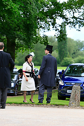 UK ENGLAND ENGLEFIELD 20MAY17 - Roger Federer and company leave the Pippa Middleton & James Matthews wedding at St Mark's church on the Englefield Estate in West Berkshire, England.<br /> <br /> jre/Photo by Jiri Rezac<br /> <br /> © Jiri Rezac 2017