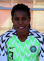 International Women's Friendly Matchs 2019 / <br /> Womens's Cyprus Cup Tournament 2019 - <br /> Nigeria v Thailand 3-0 ( Tasos Marko Stadium - Paralimni,Cyprus ) - <br /> Osinachi Ohale of Nigeria