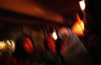Kabul, 01 September 2005..Bus' Passengers.
