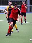 Michael Kensington in action for Canterbury, National Under 21 Hockey Tournament - Day 1, 7 May 2011, Alexander McMillan Hockey Centre Dunedin, New Zealand. Photo: Richard Hood/photosport.co.nz