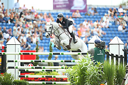 Sillo Radovan, (SVK), Quinto<br /> Team Competition round 1 and Individual Competition round 1<br /> FEI European Championships - Aachen 2015<br /> © Hippo Foto - Stefan Lafrentz<br /> 19/08/15