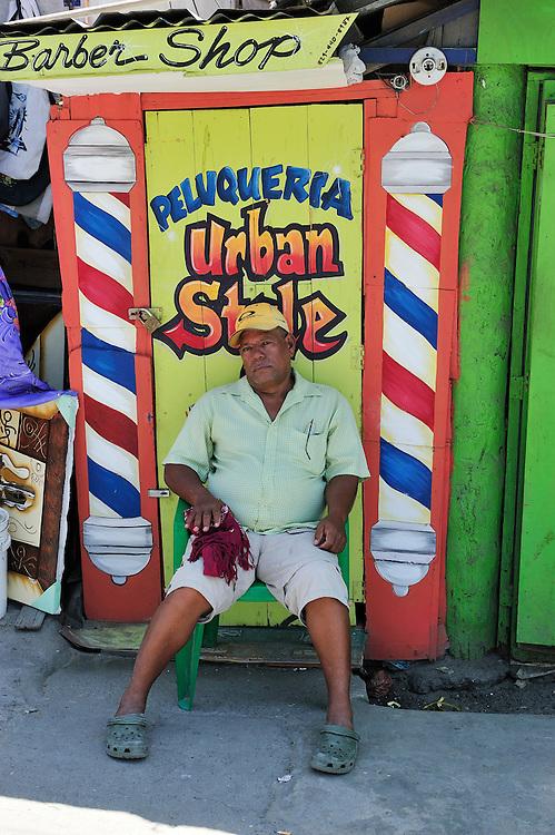 Vendors,Cabarete, Dominican Republic, Caribbean