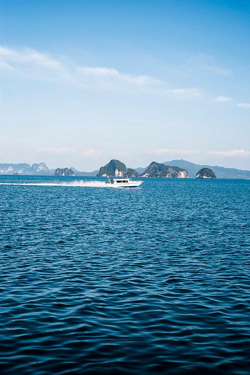 Karst islands of Phang Nga Bay