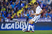 VALENCIA, SPAIN - MAY 10: Glenn Loovens of Real Zaragoza in action during the Liga BBVA between Levante UD and Real Zaragoza at the Ciutat de Valencia stadium on May 10, 2013 in Valencia, Spain. (Photo by Aitor Alcalde Colomer).