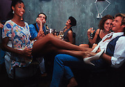 South Beach nightlife in the 1990s: chillin' at a club named Bash are these  good-looking people on a Wednesday around 2 a.m.