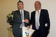 Prersentazione sponsor ENEL a Milano<br /> Fausto Mainfredi