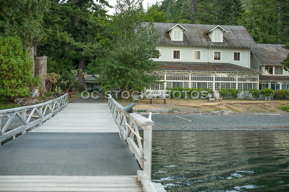 Lake Crescent Lodge at Olympic National Park in Washington State