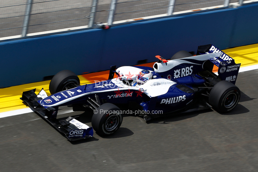 Motorsports / Formula 1: World Championship 2010, GP of Europe, 09 Rubens Barrichello (BRA, AT&T Williams),
