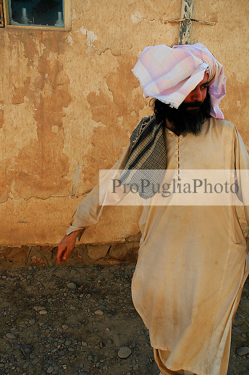Lashkar Gah, Helmand 03 November 2006. ..Firsts pictures of Kash Gabriele Torsello after the 23 days period of kidnapping...The Italian photojournalist was abducted by an unknown group while on assignment in Helmand Province, Afghanistan.