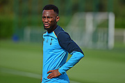 Georges-Kevin Nkoudou during Tottenham Training Session at Tottenham Training Centre, Enfield, United Kingdom on 13 September 2016. Photo by Jon Bromley.