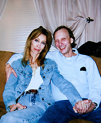 19 Jan,2006. Collect photograph.  Christmas 2005. Marshall Bruce Mathers III, aka Eminem's ailing mother Debbie Nelson with Eminem's uncle, her brother Steven Nelson in Kansas. Debbie is extremely sick with cancer. Friends and relatives are concerned for her ailing health and her fractured relationship with her famous son.<br /> Photo Credit: Kresin via  www.varleypix.com