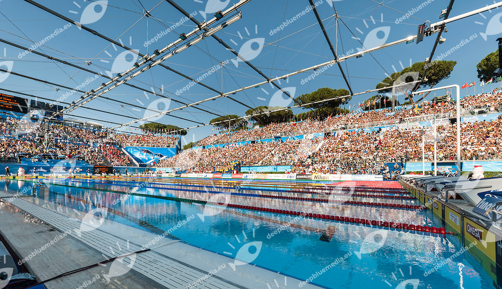 Swimming Pool - Piscina Nuoto<br /> Roma 12/7/2009 Foro Italico<br /> Roma 2009 Championships <br /> Campionati Mondiali di Nuoto<br /> Photo: Giorgio Scala/Insidefoto/Deepbluemedia