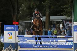 Meyer zu Hartum, Florian, Chacanua<br /> Paderborn - Paderborn Challenge 2014<br /> Nationales Springen<br /> © www.sportfotos-lafrentz.de/ Stefan Lafrentz