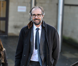 Pictured: JK Rowling's husband Neil Murray  leaves court.<br /> <br /> Author JK Rowling is suing her former PA Amanda Donaldson for damages after the Harry Potter author claimed Ms Donaldson used Ms Rowling's money to go on lavish shopping sprees, including buying two designer cats, spending more than &pound;3600 GBP on makeup and more than &pound;1600 GBP in coffee chain Starbucks. The case, before Sheriff Derek O'Carroll, is being heard at Airdrie Sheriff Court.<br /> <br /> (c) Dave Johnston / EEm