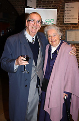 LORD & LADY HEALEY OF RIDDLESDEN at the annual House of Lords & House of Commons Parliamentary Palace of Varieties at St.John's Smith Square, London on 27th January 2005.<br />