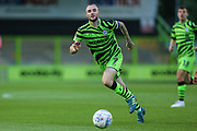 Forest Green Rovers Carl Winchester(7) on the ball  during the EFL Trophy match between Forest Green Rovers and U21 Southampton at the New Lawn, Forest Green, United Kingdom on 3 September 2019.