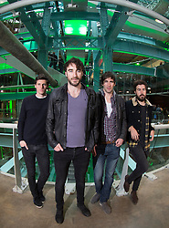 Repro Free: 14/03/2014 <br /> Irish acclaimed rock band The Coronas are pictured prior to their intimate performance at the Guinness Storehouse St. Patrick&rsquo;s Festival. The four day festival is showcasing some of Ireland&rsquo;s best music, food and rugby over the weekend. Enjoy GUINNESS sensibly. Visit drinkaware.ie