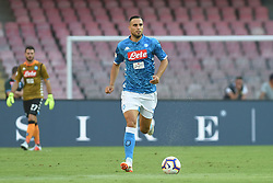 September 15, 2018 - Naples, Naples, Italy - Nikola Maksimovic of SSC Napoli during the Serie A TIM match between SSC Napoli and ACF Fiorentina at Stadio San Paolo Naples Italy on 15 September 2018. (Credit Image: © Franco Romano/NurPhoto/ZUMA Press)