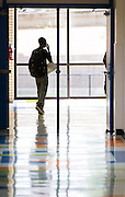 First day of school at the Energy Institute High School, August 25, 2014.