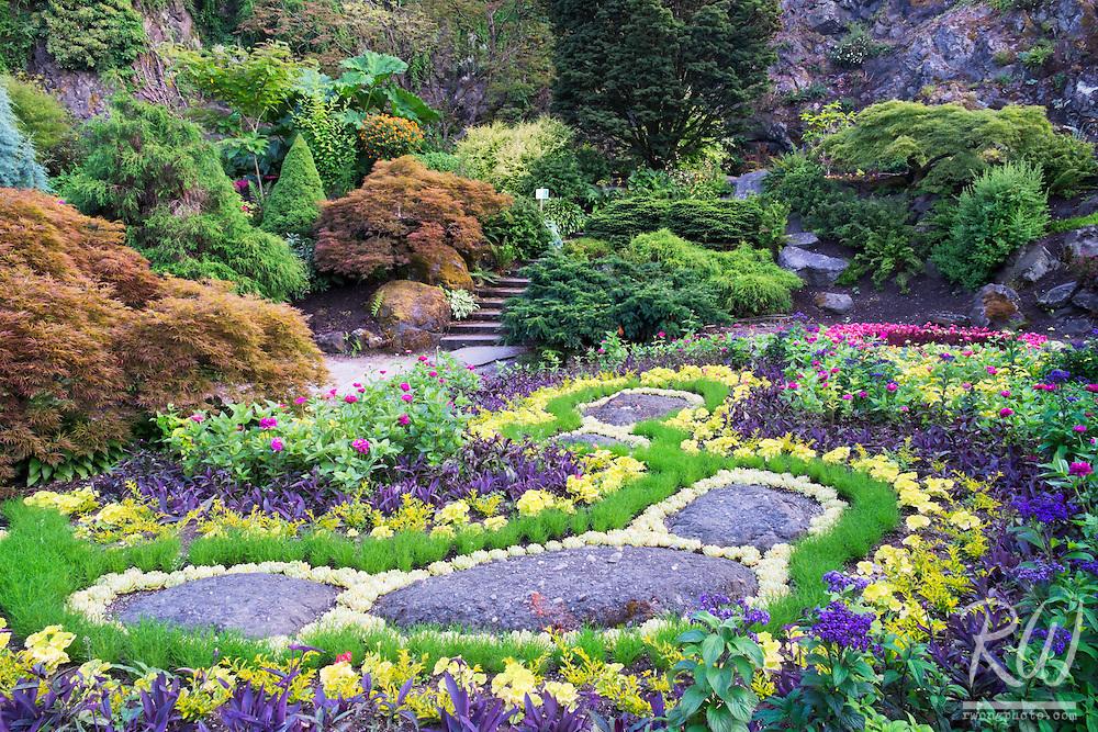 Sunken Garden at Queen Elizabeth Park, Vancouver, B.C.