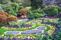 Sunken Garden at Queen Elizabeth Park, Vancouver, B.C.<br /> <br /> Year Photographed: 2014