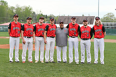 05/05/18 BHS Baseball Senior Day