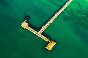 Aerial photos of south coastline of Black Sea