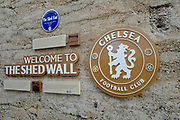 General view outside Stamford Bridge during the EFL Cup 4th round match between Chelsea and Derby County at Stamford Bridge, London, England on 31 October 2018.