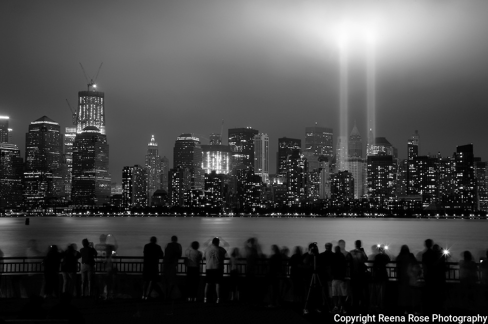 Tribute in Light and One World Trade Center<br /> New York City, NY