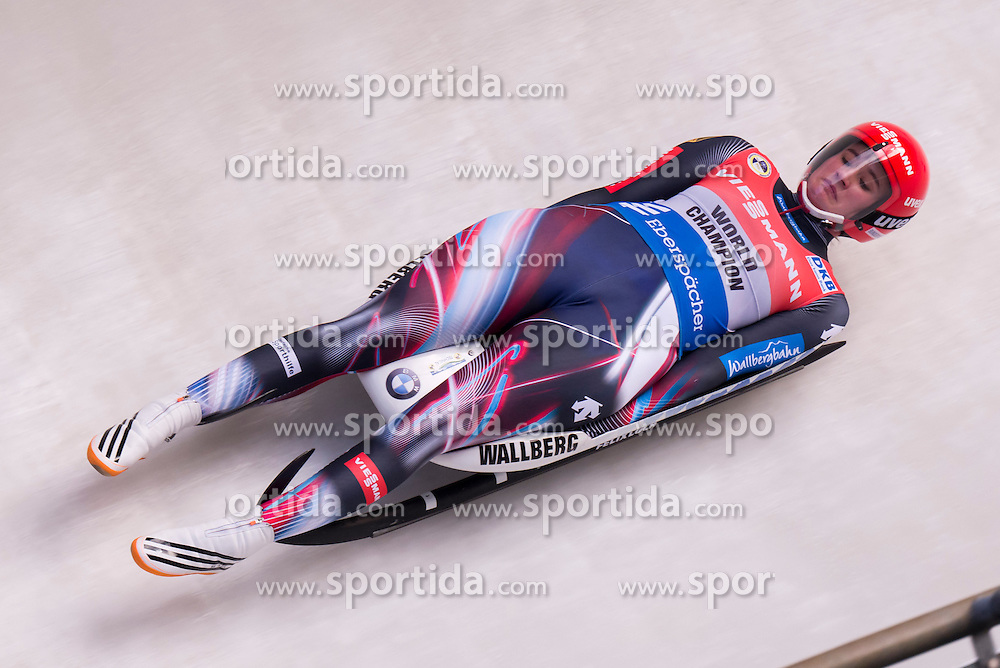 26.11.2016, Winterberg, GER, Viessmann Rennrodel Weltcup, Winterberg, Damen, Einsitzer, im Bild Natalie Geisenberger GER // during women's single seater of Viessmann Luge World Cup. Winterberg, Germany on 2016/11/26. EXPA Pictures &copy; 2016, PhotoCredit: EXPA/ Rolf Kosecki<br /> <br /> *****ATTENTION - OUT of GER*****