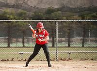 St Paul's School varsity softball with Tilton School.  Karen Bobotas for St Paul's School