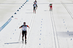 March 14, 2018 - Pyeongchang, GANGWON, SOUTH KOREA - March 14, 2018-Pyeongchang, South Korea-TAVASCI Luca of Swiss action on the slope during an 2018 winter Paralympic Cross-Country Men's 1.5Km Sprint Classic, Standing at Alpensia Biathlon Center in Pyeongchang, South Korea. (Credit Image: © Gmc via ZUMA Wire)
