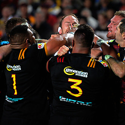 A scuffle breaks out during the 2017 DHL Lions Series rugby union match between the NZ Maori and British & Irish Lions at FMG Stadium in Hamilton, New Zealand on Tuesday, 20 June 2017. Photo: Dave Lintott / lintottphoto.co.nz
