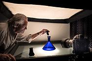 Backlit still-life studio at Eastep Photography , Sarasota, Florida