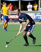 Ryan Archibald in action for Auckland. 2014 Ford National Hockey League. Southern v  Auckland at Alexander McMillan Hockey Centre, Dunedin, New Zealand. Saturday 30 August 2014. New Zealand. Photo: Richard Hood/photosport.co.nz