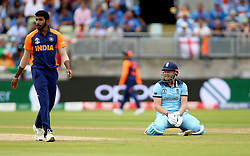 England's Jonny Bairstow during the ICC Cricket World Cup group stage match at Edgbaston, Birmingham.